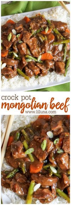 Crock Pot Mongolian