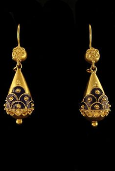 #earring #gold #black #traditional #jhumka #beautiful
