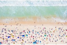Gray Malin, Copacabana Beach