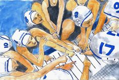 Water Polo Art