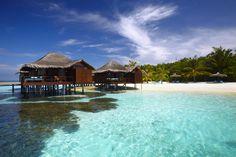 Anantara Veli water bungalow → www.voyagewave.com