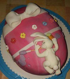 Ostertorte Easter, Cakes, Desserts, Food, Fondant Cakes, Meal, Deserts, Essen, Hoods