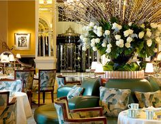 English tradition at its finest – Claridge's serves the best afternoon tea in London.  From £38 pp