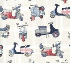 FQ - THE BRITISH ARE COMING - MICHAEL MILLER COTTON FABRIC scooters vespas mods | eBay