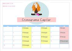 Cronograma Capilar - Atualizado | Mime-se