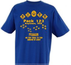 Pack Ranks with Paw Prints - Cub Scout™ Pack Design SP3680