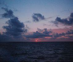 Alta mar.