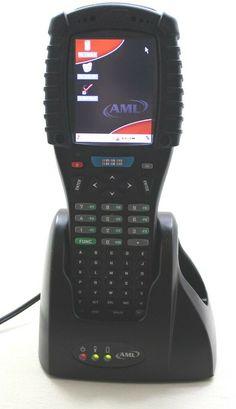 AML M7225 Handheld Barcode Scanner M7225-3100-OH With Cradle #AML Office Phone, Walkie Talkie, Landline Phone, Electronics, Store, Ebay, Storage, Shop, Consumer Electronics