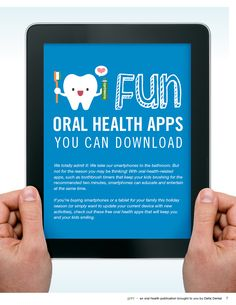 Try some of these apps to get excited about oral health!