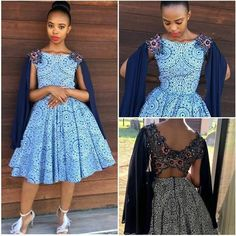 South African Shweshwe Dresses For Women's 2019
