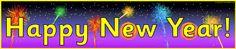 Happy New Year (2013) banners (SB3583) - SparkleBox