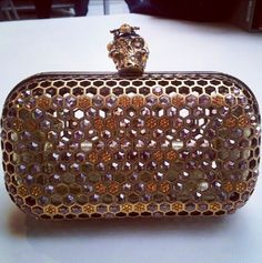 Honeycomb McQueen clutch