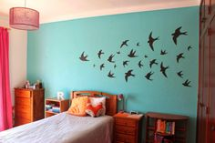 Tutorial - How to Make Swallows Wall Decor