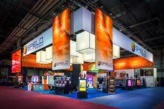 @Speilo's custom rental exhibit designed by Hill & Partners at #G2E #Global #Gaming 2012 #LasVegas