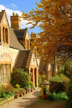Winchcombe, in the Cotswolds, district of Tewkesbury, Gloucestershire, England England Ireland, England And Scotland, England Uk, The Places Youll Go, Places To Visit, Beautiful Homes, Beautiful Places, Amazing Places, English Village