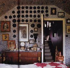 Peter Hone's London Bedroom via The Art of the Room