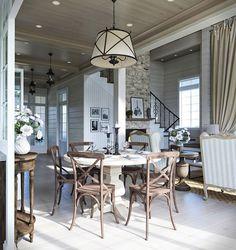 Очаровательный загородный дом в стиле прованс - Дизайн интерьера - Babyblog.ru