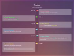 Timeline pattern @ http://themeforest.net/item/thin-admin-template/5896088