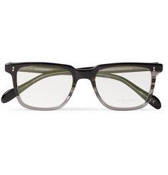 Oliver PeoplesNDG Square-Frame Acetate Optical Glasses|MR PORTER