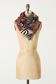 Sequence Patchwork Scarf - Anthropologie.com