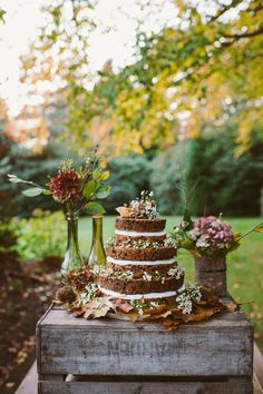 boho weddings | Woodland Autumnal Boho Wedding Ideas