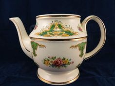 Vintage Price Kensington Teapot with Gold Trim