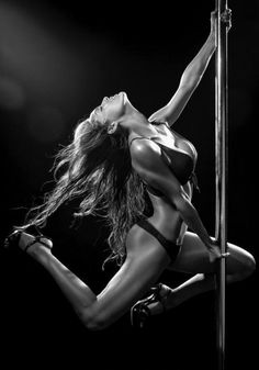 Tiffany Pope writes, buy me a pole ♡ Strength, beauty, flow, intense workout. Sexy is just a bonus.