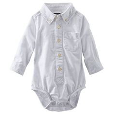 OshKosh B'gosh Baby Boys' Oxford Button Up Bodysuit (6 Months, Ivory) OshKosh B'Gosh http://www.amazon.com/dp/B00RE1S2GC/ref=cm_sw_r_pi_dp_f1mVwb0JR6F5B