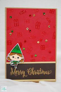 Merry Christmas (Elf) | Mama Elephant