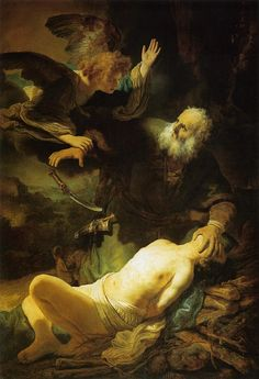Rembrandt - The Sacrifice of Isaac