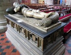 Tomb of Sir Richard Pembridge, Hereford Cathedral.