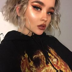 "10.9k Likes, 59 Comments - taylor. (@lilhunnytay) on Instagram: ""my ear is clearly on fire  . . foundation: makeupforever hd foundation stick  highlight: cover fx…"""