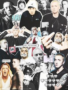 Eminem collage