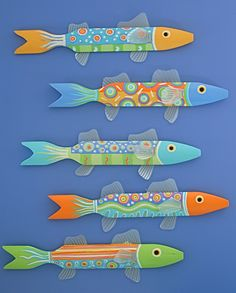 Multicolor Fence Fish