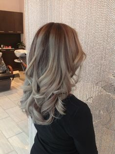Ash balayage color melt! Balayage   hair color 2015  ombré   blond balayage  GREAT HAIR AND SERVICES LIVE AT D-ROCK SALON   703-293-9400 DROCKSALON.COM @DROCKSALON
