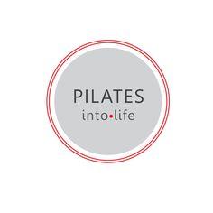 Logo Concept (client: Pilates Into Life) Pilates Logo, Pilates Studio, Studio Logo, Fitness Studio, Logo Concept, Alcohol, Exercise, Workout, Logo Ideas