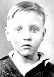 Elvis as a boy
