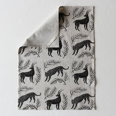 Looking to get a little wilder in the kitchen? This tea towel can help