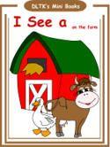 farm animal activities, worksheets, crafts for preschool