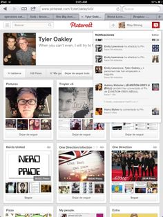 thanks for the follow @Tyler Oakley !! you made my day! :D also good job on 1D Day! <3 xx