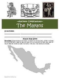 maya civilization for kids writing numbers and calendar hey pinterest maya civilization. Black Bedroom Furniture Sets. Home Design Ideas