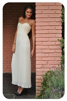 Vintage 1990s Goddess Grecian Accordion Pleated by LaChouetteSage, $75.00