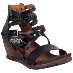 Miz Mooz Women's Shay Wedge Sandal