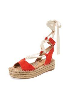 32c75a3550da4 Sam Edelman Nona Suede Platform Espadrille Fashion Trends