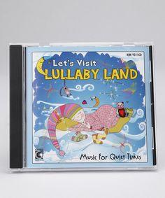 Kimbo Let's Visit Lullaby Land CD