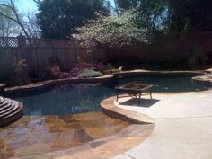 Entrance Pools Swimming Spas Tyler Backyards East Texas