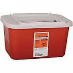 Biohazard Multipurpose Sharps Containers  - Price ( MSRP: $ 6.96Your Price: $4.29Save up to 38% ).