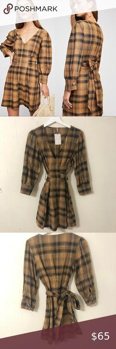 Details about  /Leg Avenue Women/'s Plaid Babydoll Dress