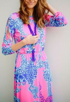 Lilly Pulitzer Ashlynn Keyhole Detail Maxi Dress worn by @Sarah Tucker