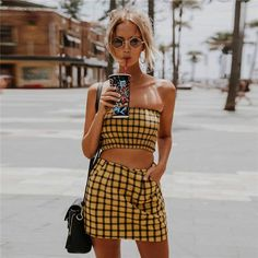 391359b2107d0 889 Best Two Pieces Sets images in 2019 | Fashion, Dresses, Two ...